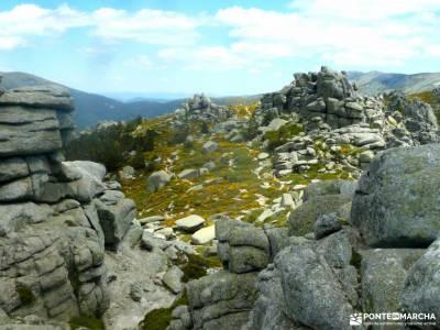 Siete Picos[Serie clásica]:Sierra del Dragón;rutas senderismo cercedilla nacimiento del jucar viaj